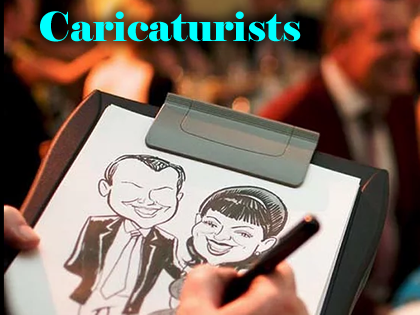 Caricaturists & Silhoette Cutters | Steve Allen Entertainments