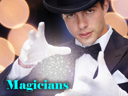 Magicians - slight of hand, table magic, mix & mingle magic | Steve Allen Entertainments