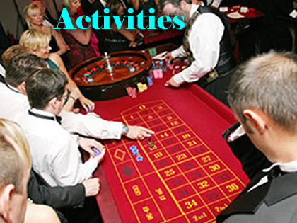 Activities from casino to scalextric and from robot fighting to murder mystery | Steve Allen Entertainments