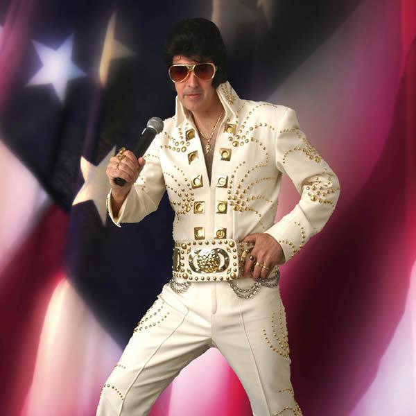 Gary as Elvis